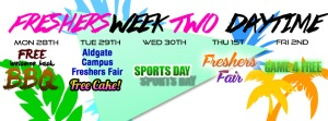 Freshers Week Two Daytime