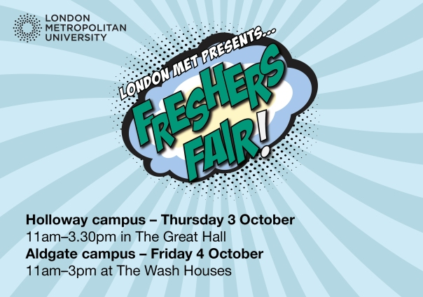 FRESHERS FAIR A5 FLYER